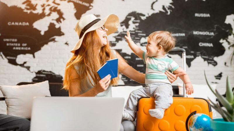Список вещей в дорогу для малышей